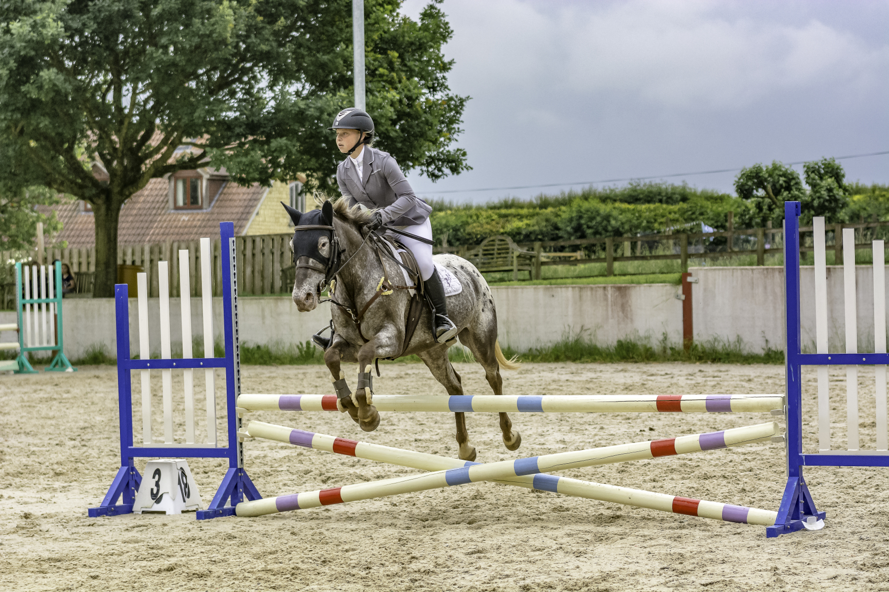Dorset Showground Showjumping Sun 20th June 2021 Just For Schools Class 22 to 28